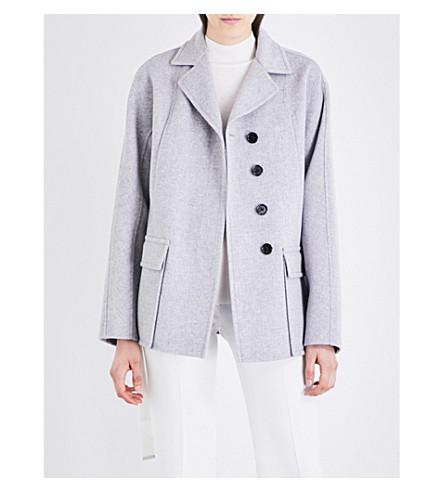 JOSEPH Caplan wool and cashmere-blend coat (220light+grey