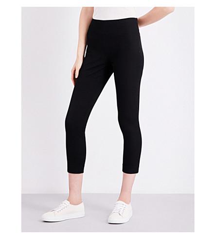 JOSEPH New Tony skinny cropped stretch-gabradine trousers (010+black