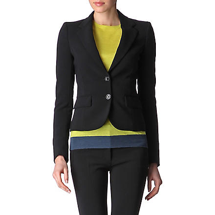 JOSEPH Crepe jacket (Black