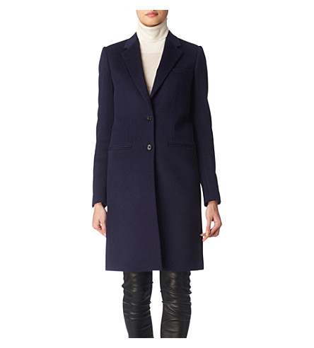 JOSEPH Man wool coat (Navy