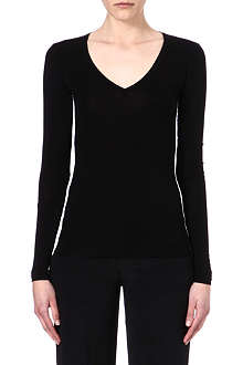 JOSEPH Duo-tone stretch top