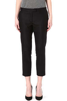 JOSEPH Flannel wool trousers