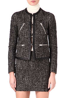 JOSEPH Sacha tweed jacket