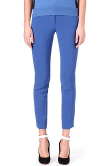 JOSEPH Eliston stretch-crepe trousers