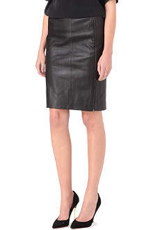 JOSEPH Brent stretch-leather skirt