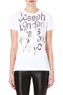 JOSEPH Graphic cotton t-shirt