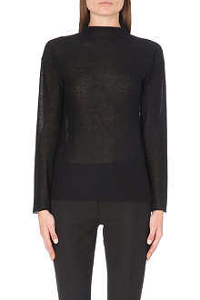 JOSEPH High-neck cashmere jumper