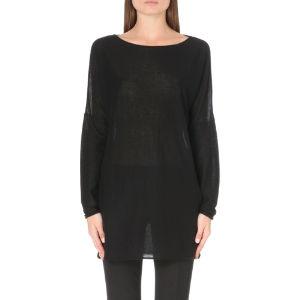 Cashmere tunic jumper