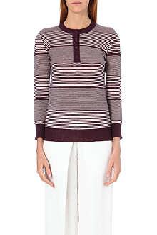 JOSEPH Round neck cashmere jumper