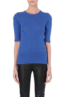 JOSEPH Round neck cotton top