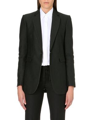 JOSEPH Laurent diamond jaquard jacket