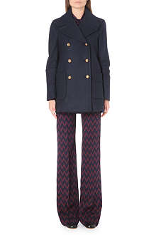 JOSEPH Cadet felt stretch coat