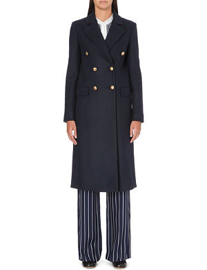 JOSEPH Ziggy double-breasted wool coat