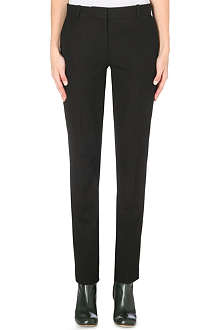JOSEPH Ben gabardine tapered trousers