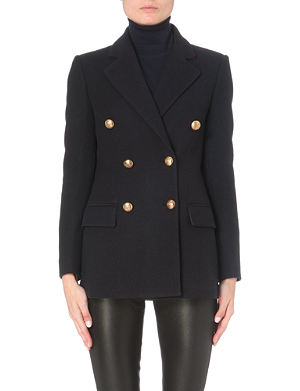 JOSEPH Ziggy stretch-wool jacket