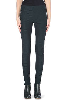JOSEPH Gabardine stretch diamond legging trousers