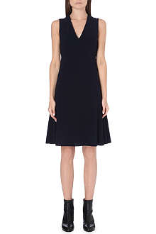 JOSEPH Polly v-neck crepe dress