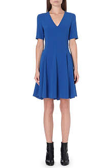 JOSEPH Alex v-neck stretch-crepe dress