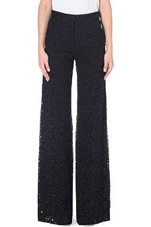 JOSEPH Albert flared lace trousers