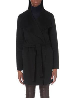 JOSEPH Lisa long-length cashmere coat
