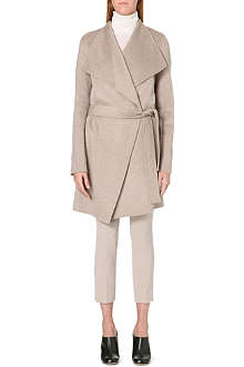JOSEPH Lisa long-length cashmere coat