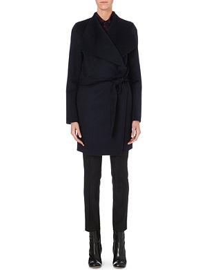 JOSEPH Lisa wool and cashmere coat