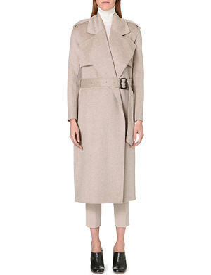JOSEPH Long-length cashmere coat