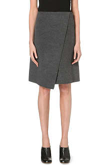 JOSEPH Charlie wrap-effect skirt