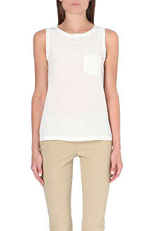 JOSEPH New Debardeur sleeveless silk top