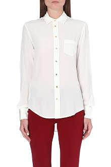 JOSEPH Garcon silk crepe de chine shirt