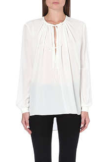 JOSEPH Carl silk blouse