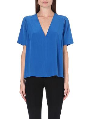 JOSEPH Riley silk blouse