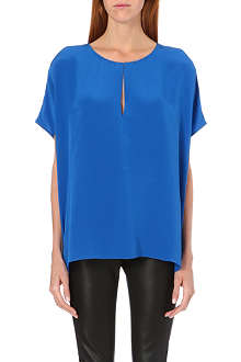 JOSEPH Crepe de Chine New Pull blouse