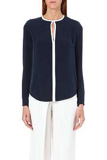 JOSEPH Bibby silk blouse