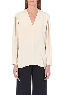 JOSEPH Angela matt silk blouse