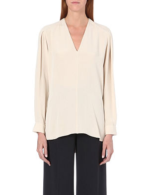 JOSEPH Angela matt silk blouse
