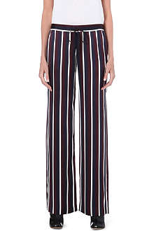 JOSEPH College stripe pyjama trousers