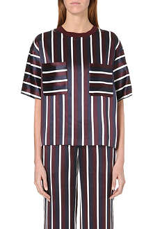 JOSEPH Marcel striped blouse