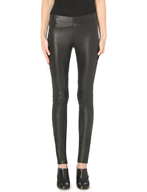 JOSEPH Stretch leather leggings