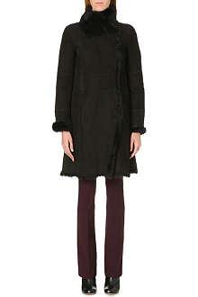 JOSEPH Anais Toscana lambskin coat