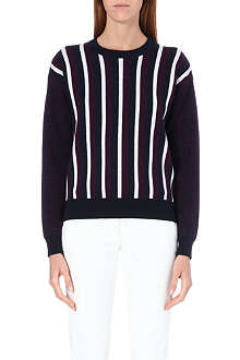 JOSEPH Chevron stripe jumper