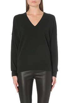 JOSEPH Knit v-neck cashmere jumper