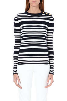 JOSEPH Sailor stripe jumper