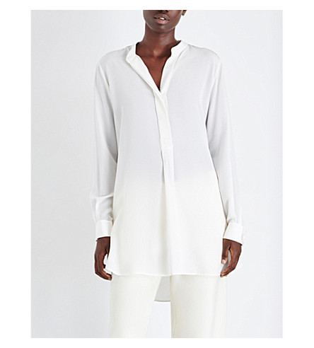 JOSEPH Dara silk blouse (021+off+white
