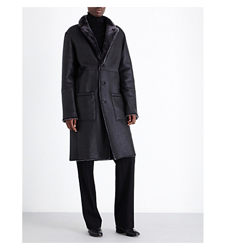 JOSEPH - Brittany reversible shearling coat | Selfridges.com