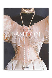 BOOKSHOP Fashion History: A History from the 18th to the 20th Century by Kyoto Costume Institute
