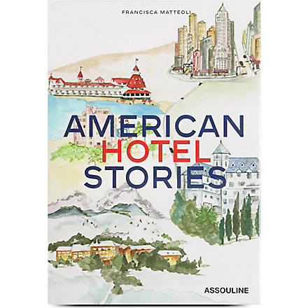 WH SMITH American Hotel Stories by Francisca Matteoli