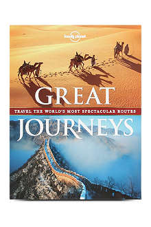 BOOKSHOP Lonely Planet Great Journeys by various authors