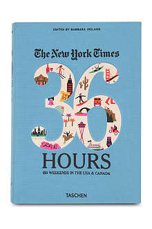BOOKSHOP The New York Times: 36 Hours USA & Canada edited by Barbara Ireland