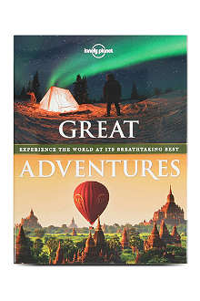 BOOKSHOP Lonely Planet Great Adventures by various authors